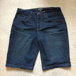 Denim Bermuda Shorts (Riders by Lee)